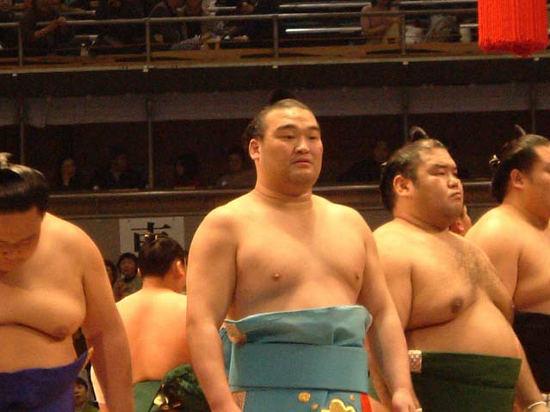勝負審判長は元横綱千代の富士の九重親方。  大阪場所の